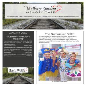 January Mulberry Gardens Memory Care Newsletter