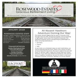 January Rosewood Estates Newsletter