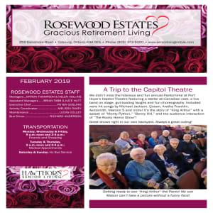 February Rosewood Estates newsletter