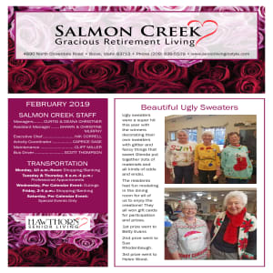 February Salmon Creek newsletter