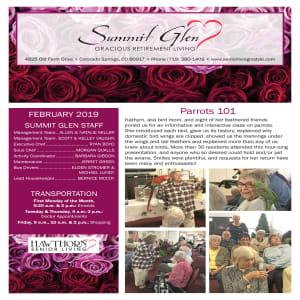 February Summit Glen newsletter