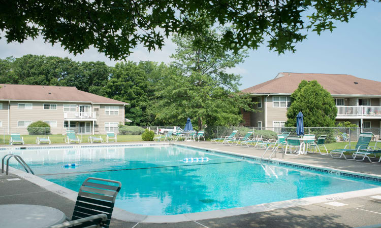 Swimming Pool at Van Antwerp Village in Niskayuna
