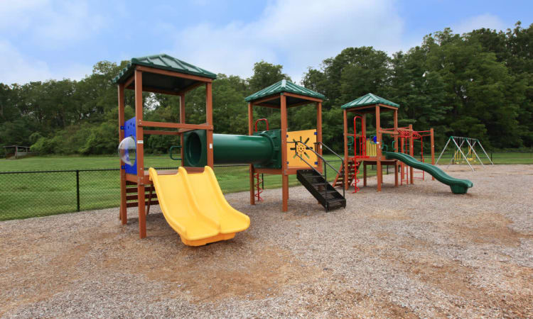 Playground at Village Park Apartments in Pleasant Valley