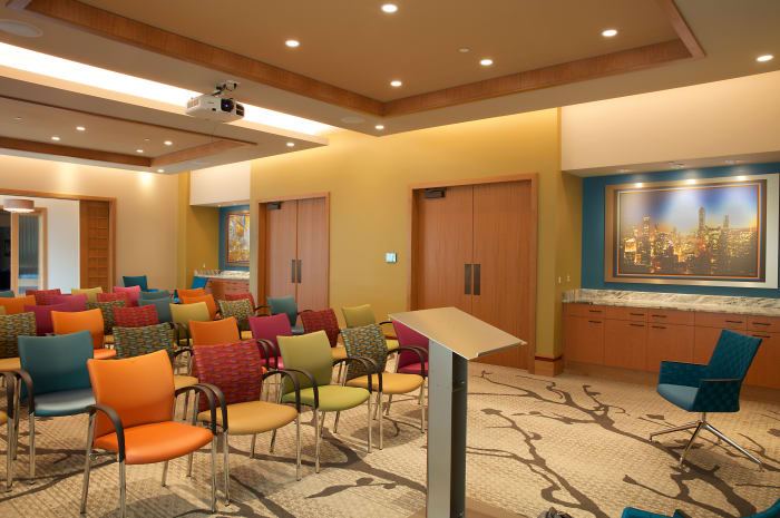 Multi-purpose room is host to many special events at All Seasons of Birmingham in Birmingham, Michigan