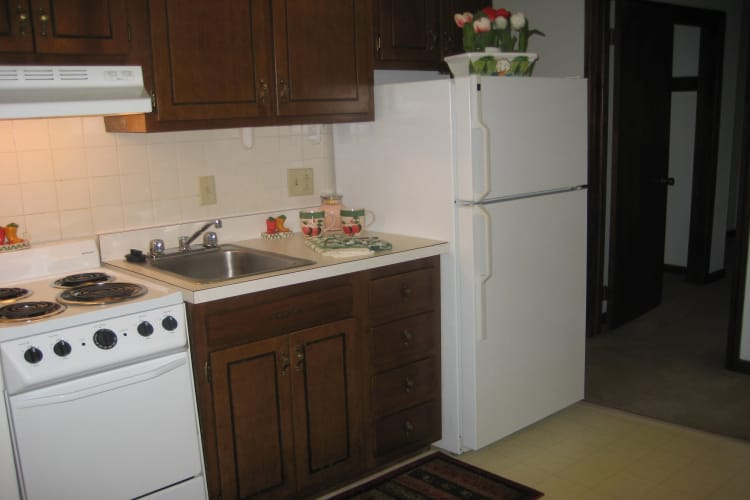 Kitchen at Van Deene Manor in West Springfield
