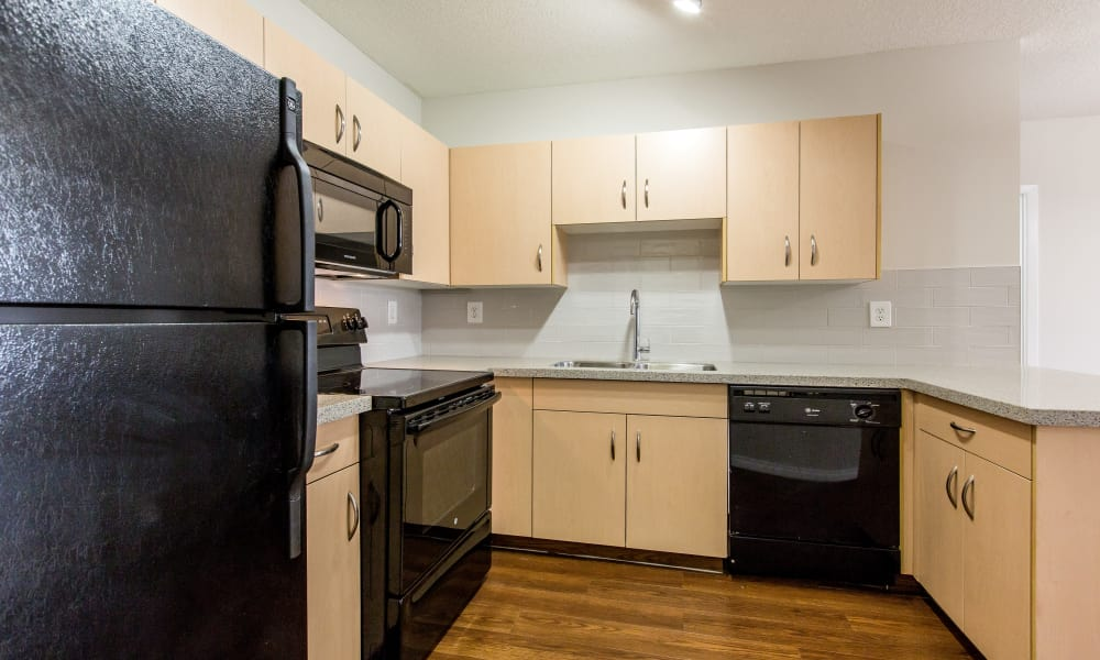 Park Square offers a fully-equipped kitchen in Edmonton