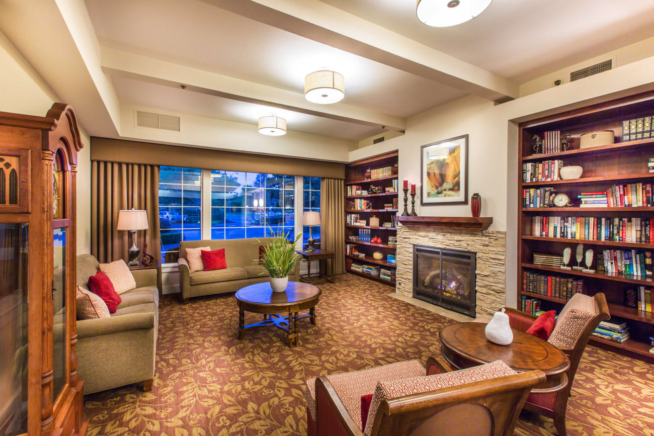 Living space at Oakmont Gardens in Santa Rosa, California