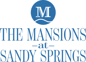 logo for The Mansions at Sandy Springs in Peachtree Corners, Georgia