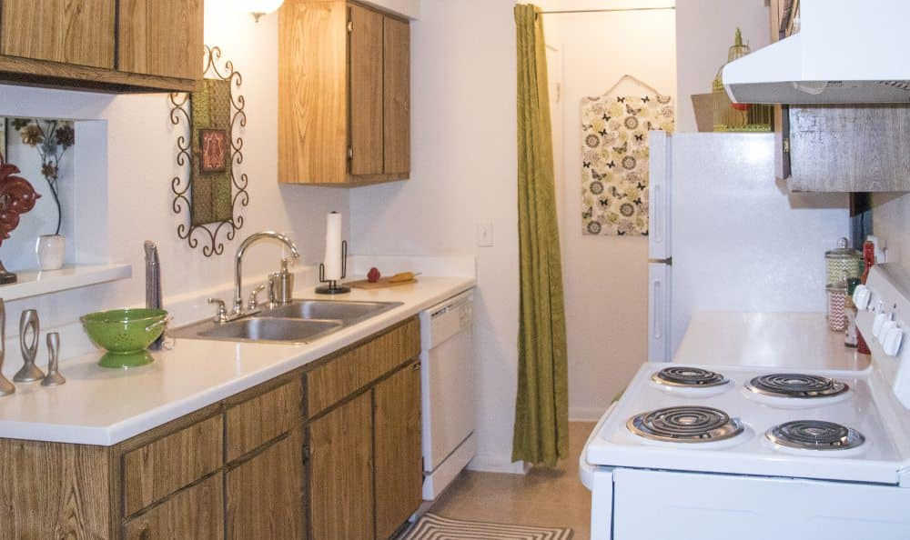Kitchen at Waters Edge in Oklahoma City