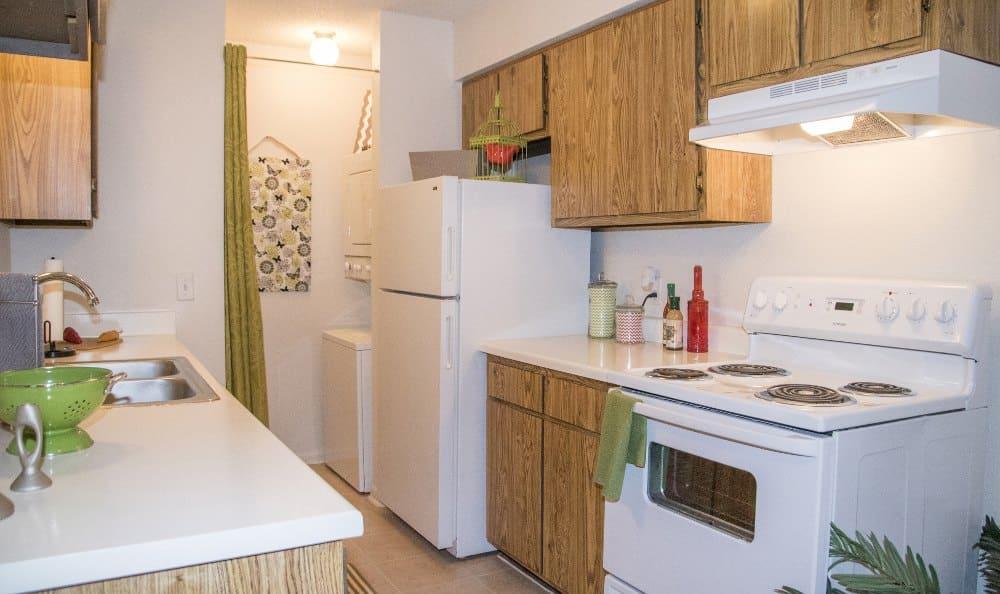 Waters Edge kitchen in Oklahoma City