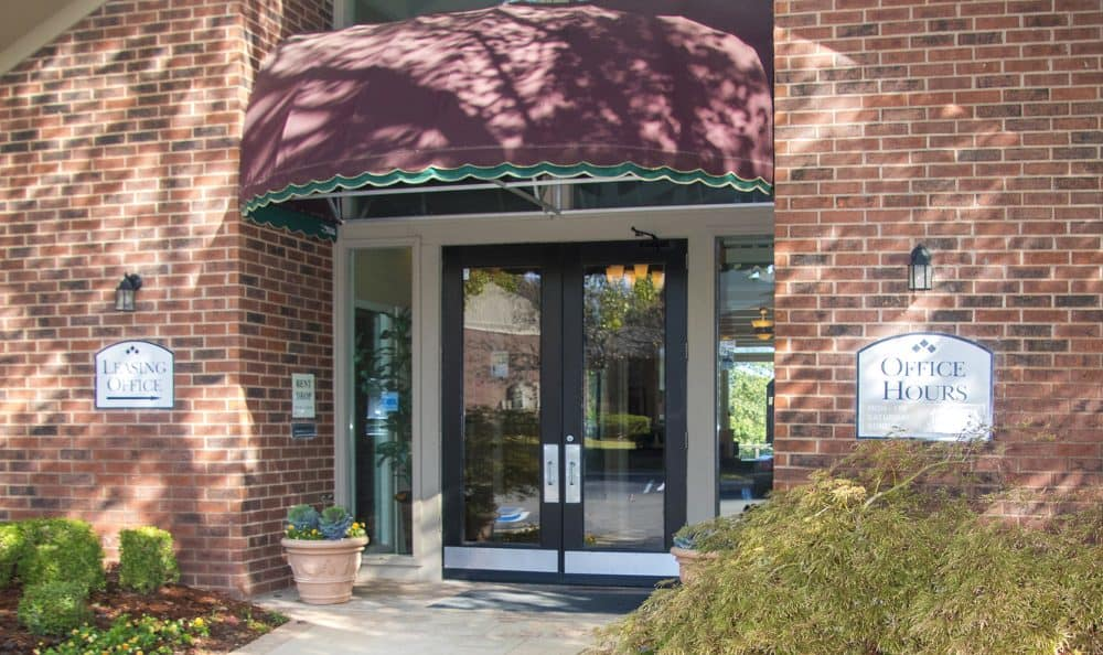 Waters Edge leasing office in Oklahoma City, Oklahoma