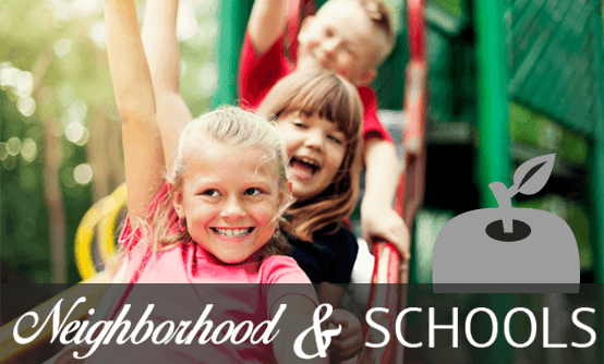 Neighborhood and school information for apartments in Broken Arrow