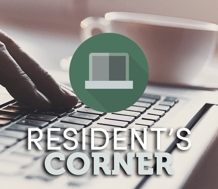 Residents corner at Icon at Broken Arrow
