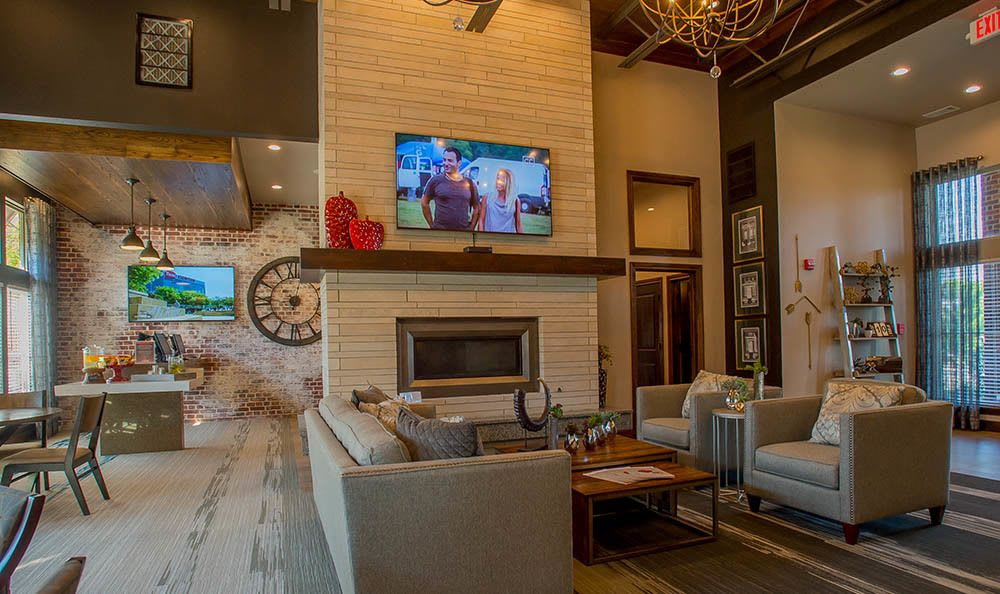 The clubhouse at Icon at Broken Arrow