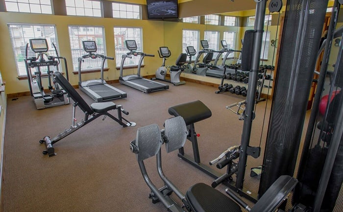 Fitness Facility at Tuscany Ranch apartments