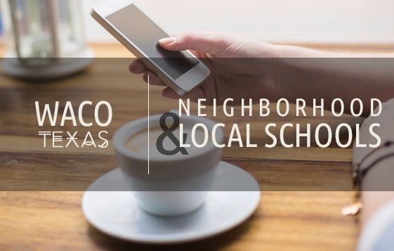 Neighborhood and school information for apartments in Waco