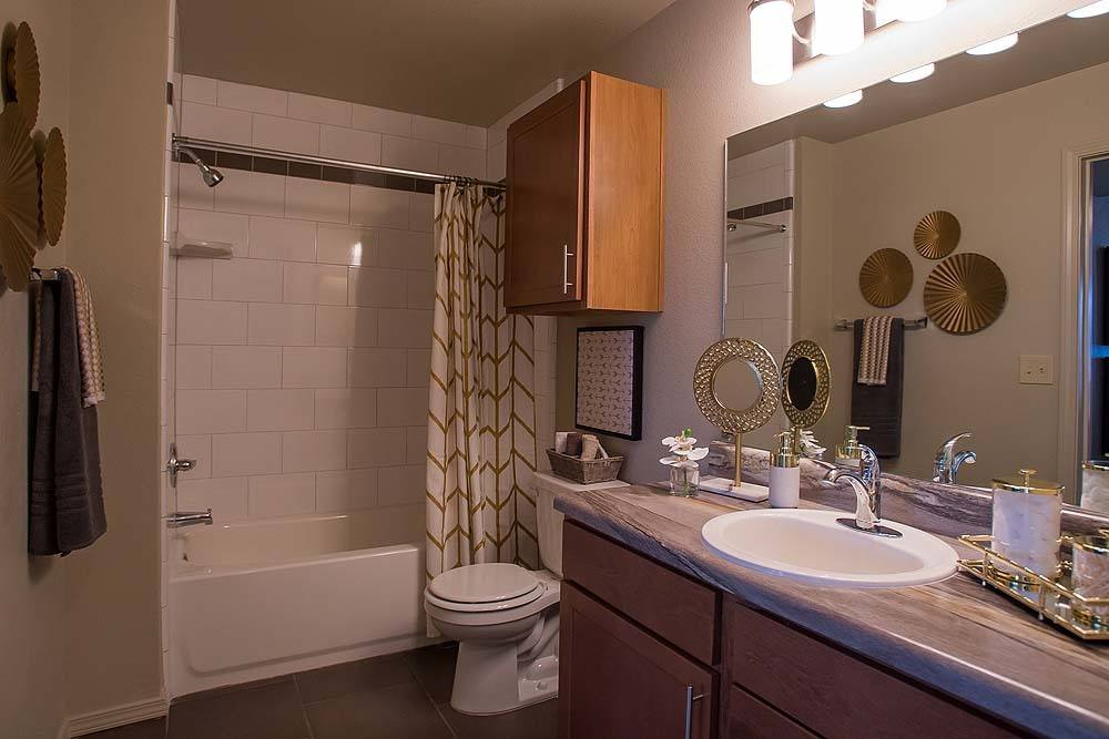 Bathroom at Tuscany Ranch Apartments