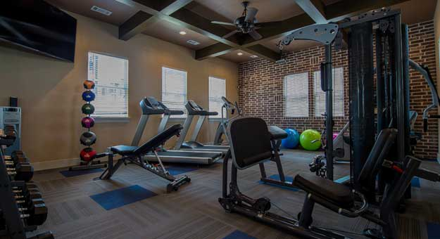 Amazing amenities at Scissortail Crossing Apartments