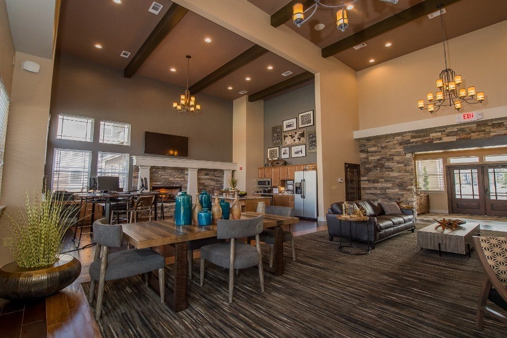 Clubhouse at Cottages at Tallgrass Point Apartments