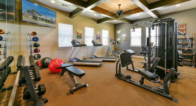 Amazing amenities at Cottages at Abbey Glen Apartments