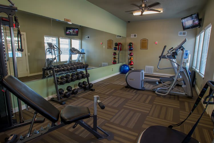 Barcelona Apartments has a great fitness facility