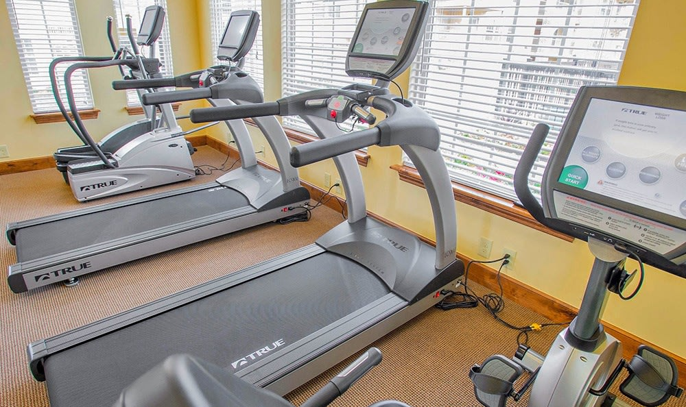 Treadmills at Tulsa apartments