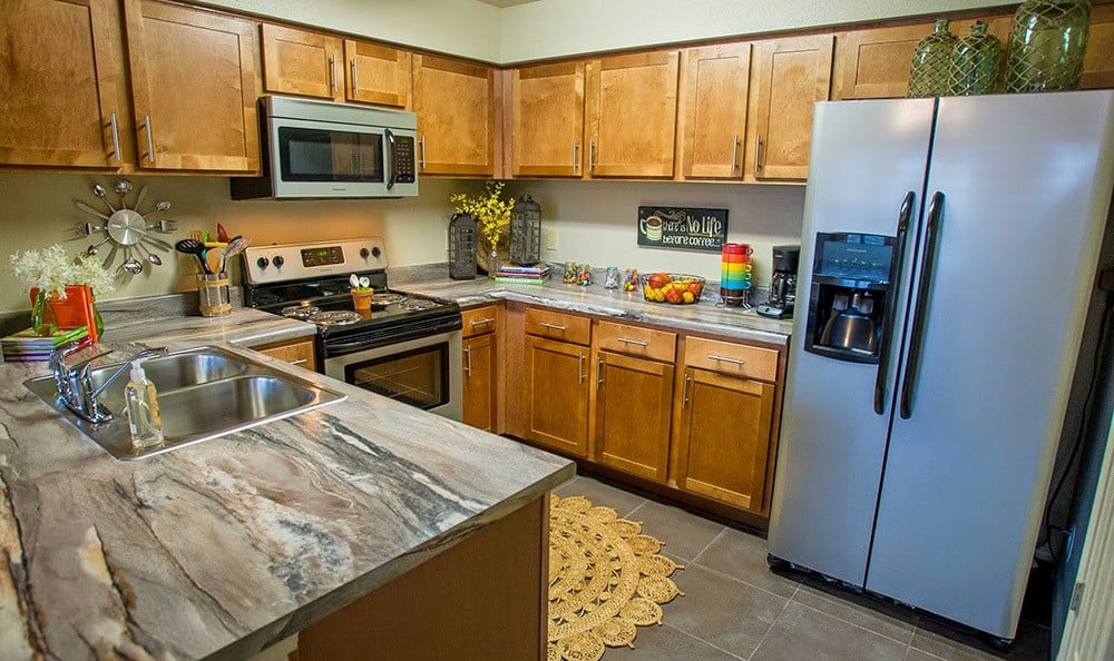 Great kitchen at Tulsa apartments
