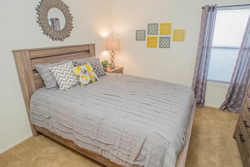 Bedroom at Tulsa apartments