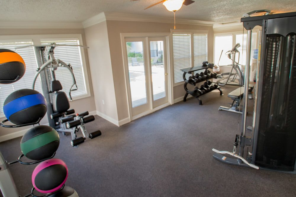 Fitness Center at Cedar Glade Apts