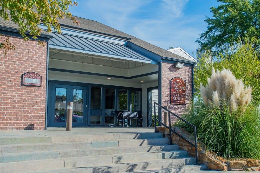 Entrance at Cedar Glade Apts