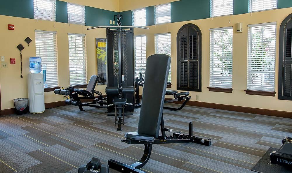 Fitness Facility at Coffee Creek Apartments