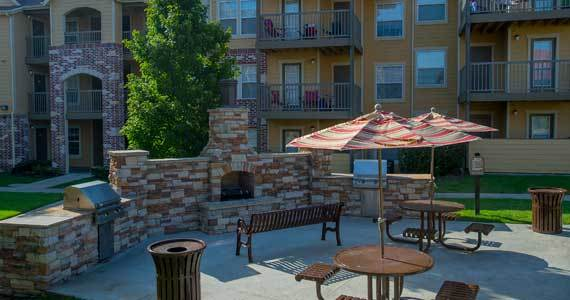 Luxury amenities at our apartments available in owasso