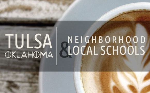 Neighborhood and schools in Tulsa