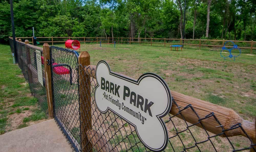 Bark Park at Creekwood Apartments in Tulsa