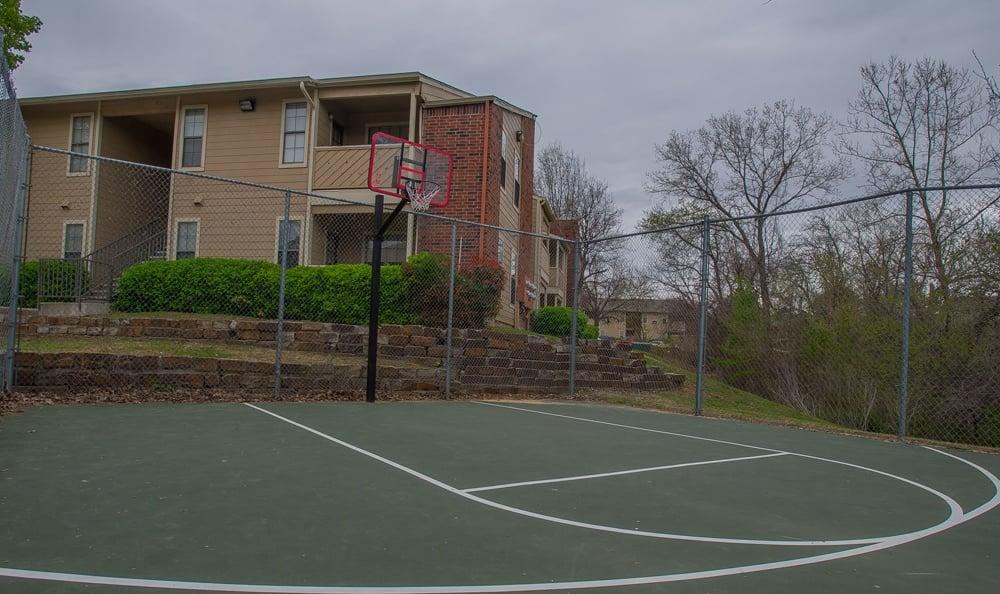 Basketball Court at Creekwood Apartments