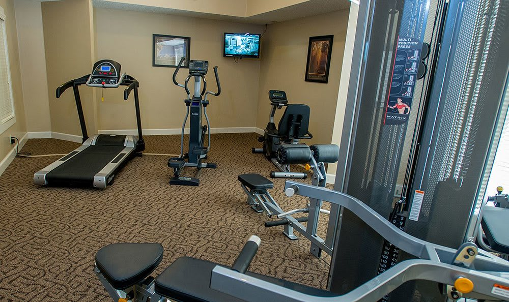 Tulsa apartments with a fitness center