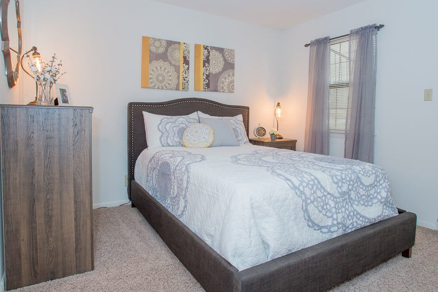Comfortable bedroom in Tulsa