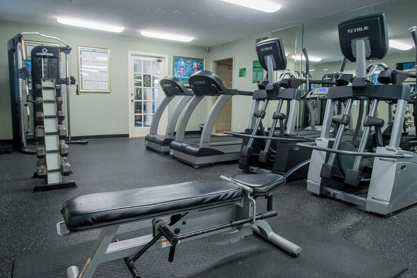 The Greens Of Bedford fitness facility