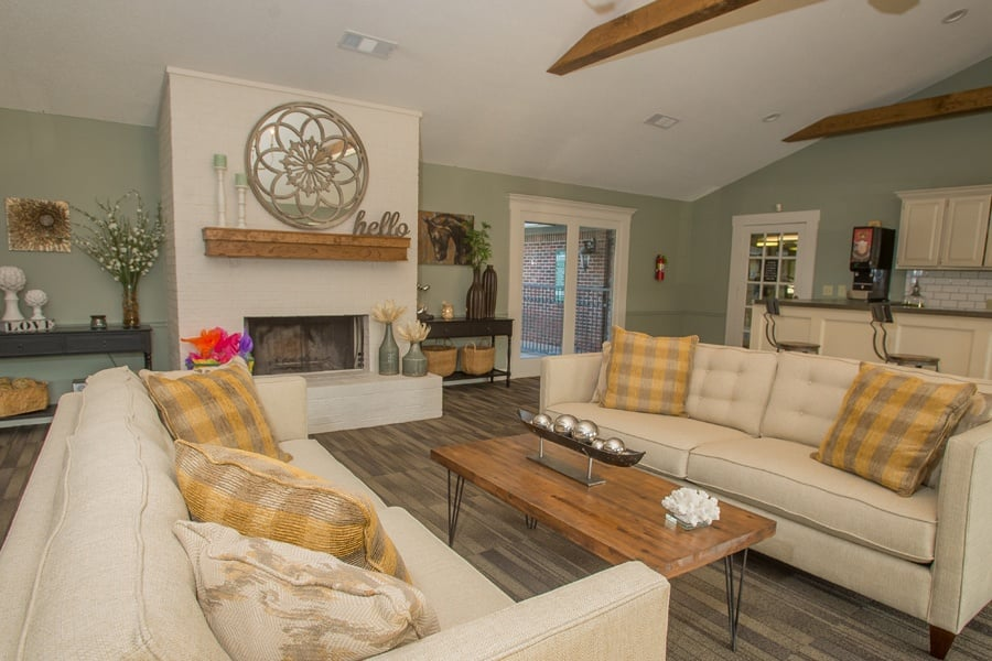 Living space at The Greens Of Bedford