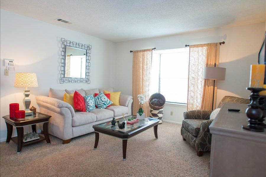 Another example living area at our Tulsa apartments