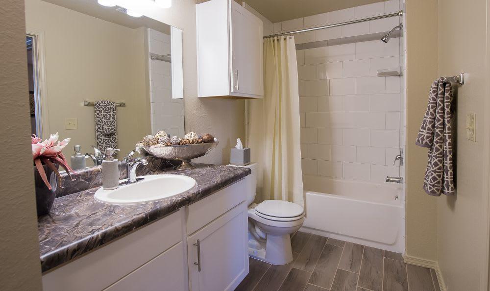 Spacious bathroom in Moore, OK