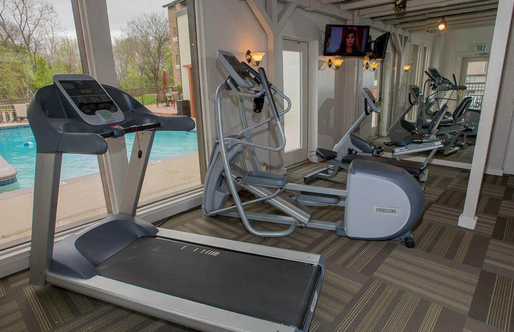 Polo Run Apartments Fitness Facility