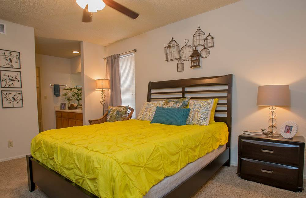 Bedroom at Polo Run Apartments