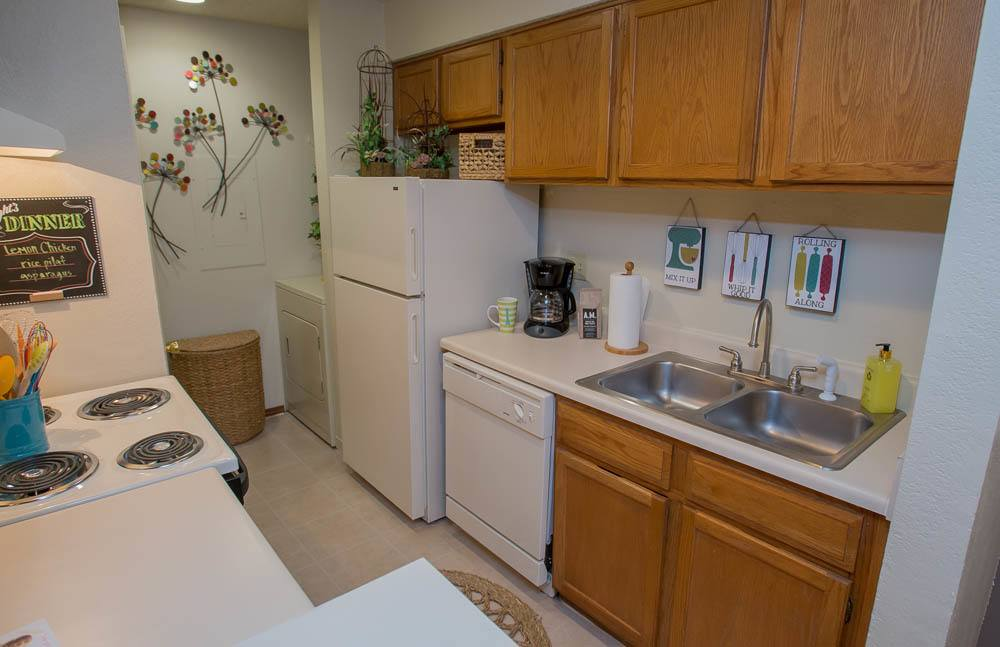 Polo Run Apartments Kitchen