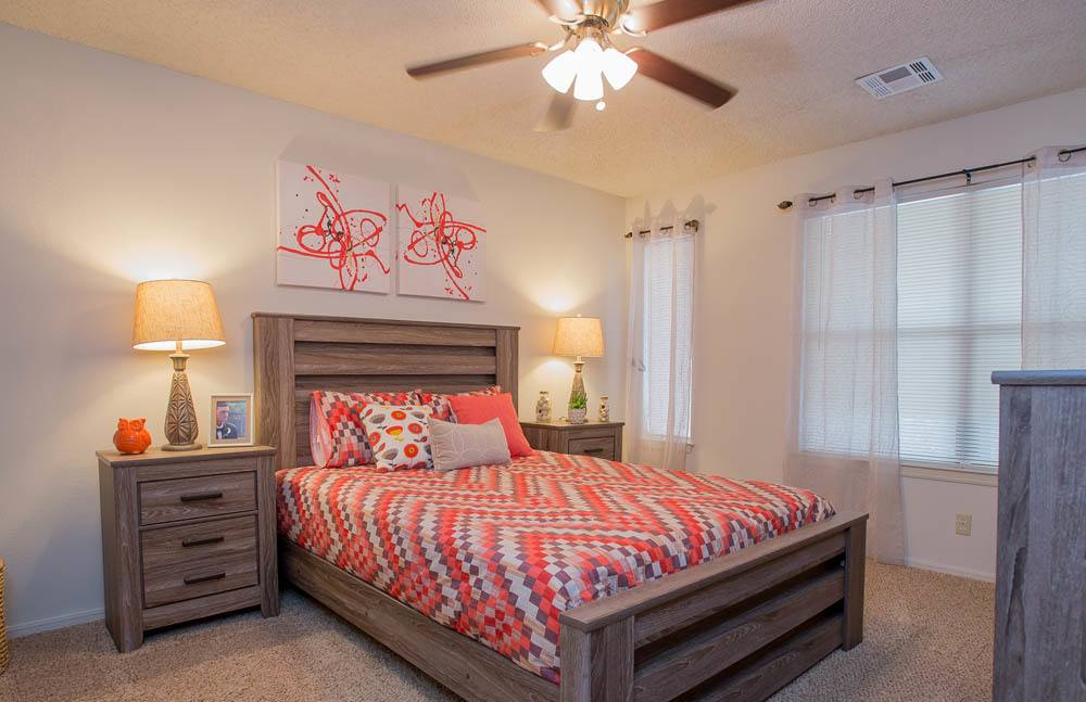 Polo Run Apartments Bedroom