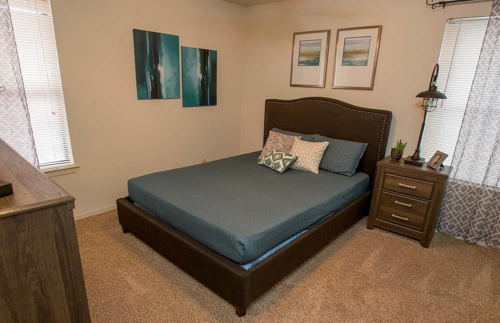 Polo Run Apartments Bedrooms in Tulsa