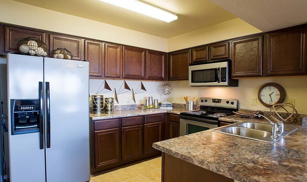 Kitchen at Tuscany Hills at Nickel Creek