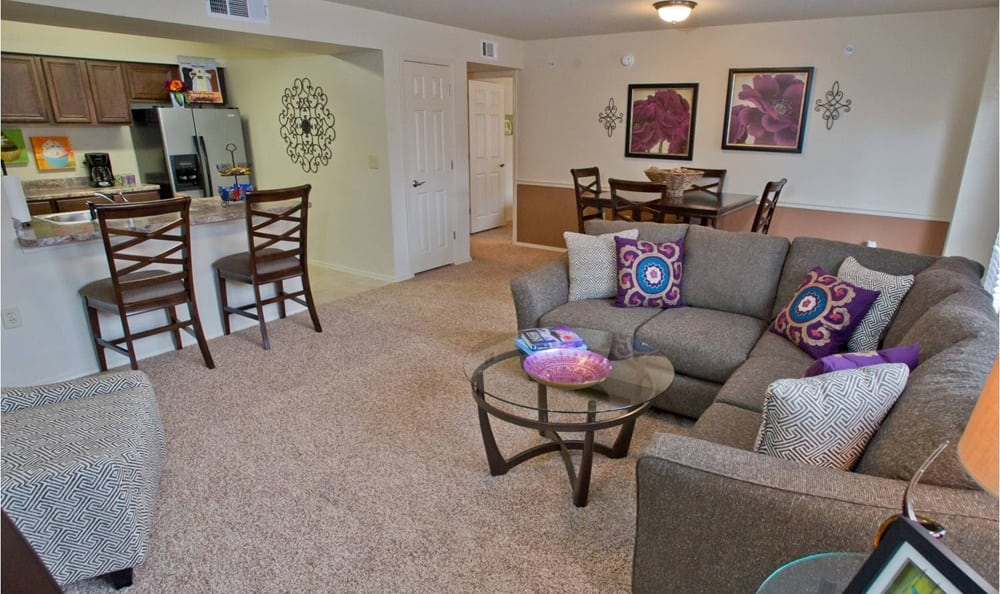 Living Room at Tuscany Place