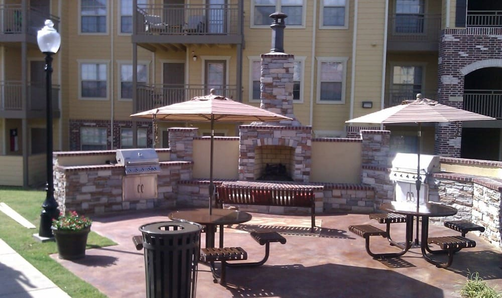 Outdoor Gills at Tuscany Place