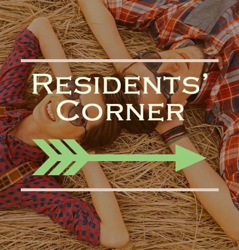 Residents' corner